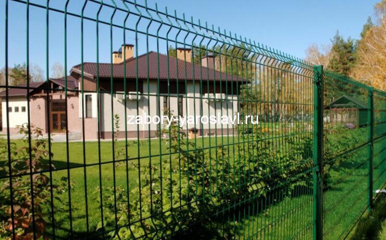3д забор в Ярославле