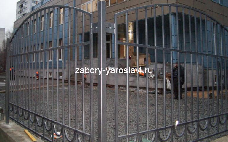 забор из профтрубы в Ярославле