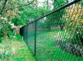 забор сетка рабица под ключ цена