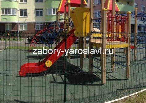 3d забор для детских площадок